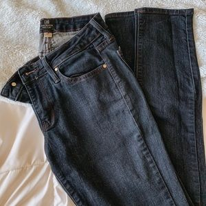JUST BLACK Dark Wash Skinny Stretch Jeans